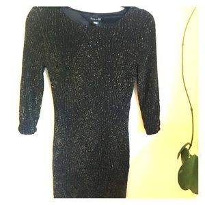 Forever 21 bodycon sparkle dress